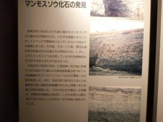 Yuni-cho, Japão: パネル展示