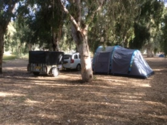 Dereli Motel: Camping area