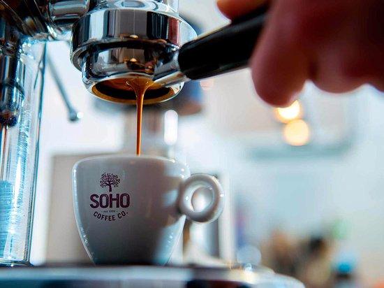 Handforth, UK: SOHO Coffee Co. Total Fitness