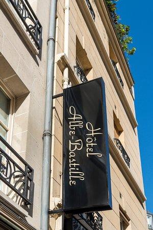 Hotel Albe Bastille : Hotel's Facade
