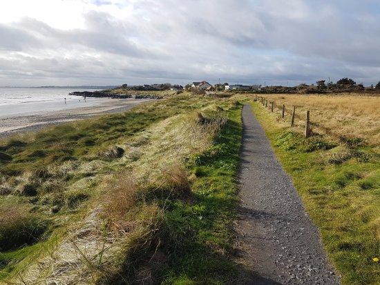 Donabate, Ierland: towards the Waterside