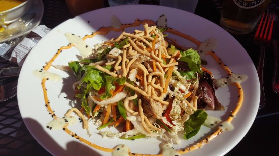 Peaks Island, Мэн: Thai salad, wonderful