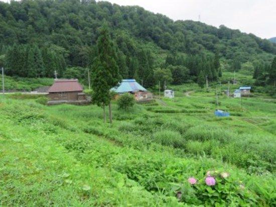 Itoigawa, Japan: 集落の様子