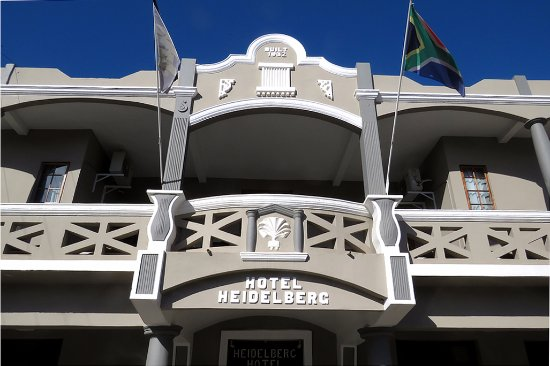 Heidelberg, Afrique du Sud : Hotel entrance from the road