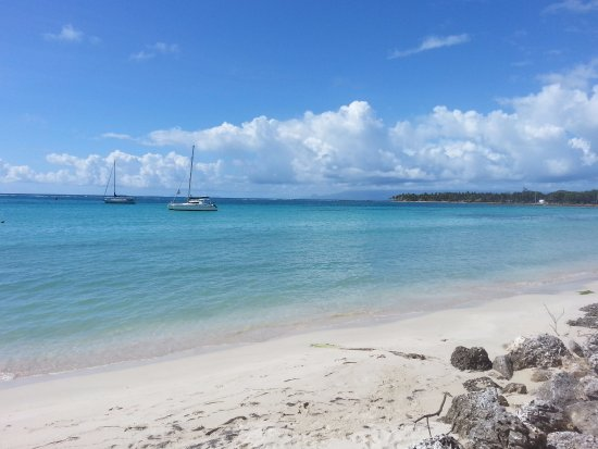 St. Anne Beach: plage de Sainte Anne