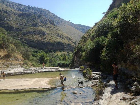 Riserva Naturale Orientata Cavagrande del Cassibile: l arrivo