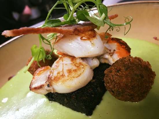 Stoke Fleming, UK: Scallops