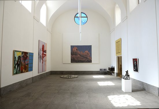 Robilant+Voena - Best of St. Moritz Art Masters 2017 in the protestant church