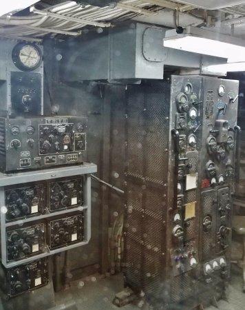 Galveston, TX: Radio Room USS Stewart