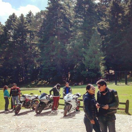 Puebla, Mexico: Un lugar bonito en un área llena de árboles solo paramos a desayunar y la comida es buena a prec