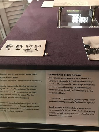 Jane Addams' Hull-House Museum: 1st female faculty at Harvard Medical