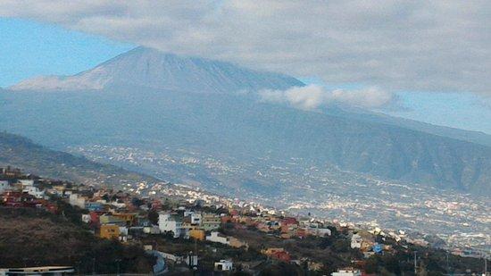 Orotava Valley: vista vale e do vulcão Teide