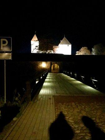 Saaremaa, Estonia: мост через ров