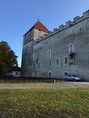 Saaremaa, Estonya: Крепостная стена