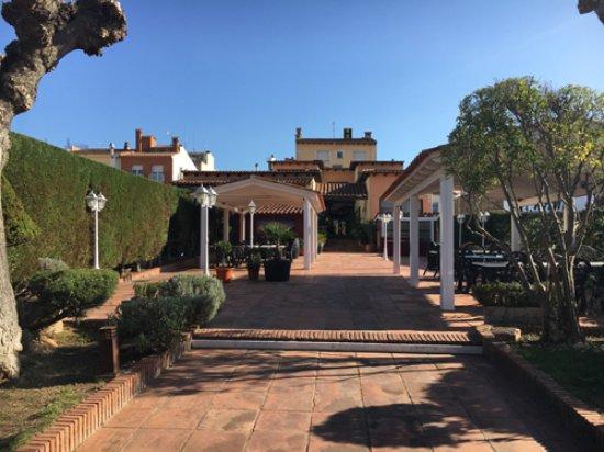 Vidreres, İspanya: Entrada al local