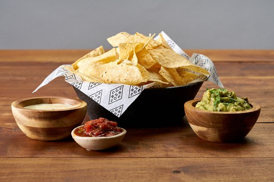 Jesup, GA: Fresh chips, white cheese dip, house made salsa and guac