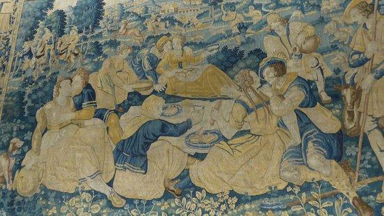 Oudenaarde, Belgien: Tapestry detail