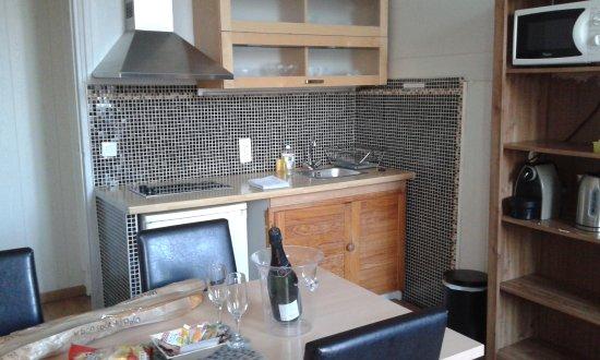 Ajoupa Apart'hotel Nice: coin cuisine
