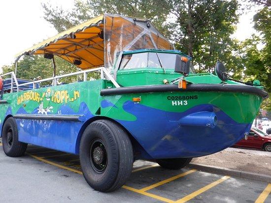 Harbour Hopper Tours: L'engin amphibie