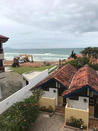 Costa Norte Ingleses Hotel: Baustellenblick
