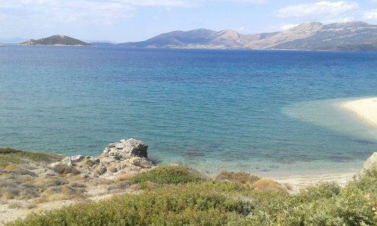Marmari, Grecia: Der Goldstrand nahe des Hotels
