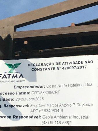 Costa Norte Ingleses Hotel: die Info gehört auf die Hoepage