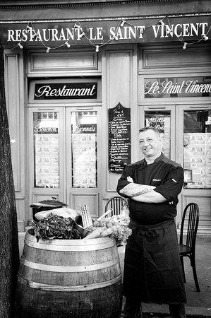Restaurant le saint vincent dans lyon avec cuisine for Restaurant cuisine moleculaire lyon