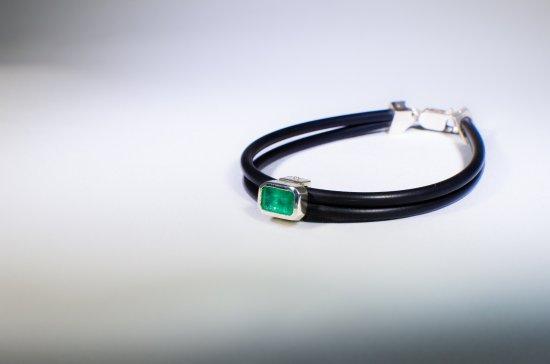 100% de alta calidad varios estilos 2019 real pulseras con esmeraldas colombianas - Picture of La Casa del ...