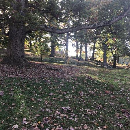Staunton, Βιρτζίνια: Park area is great for walking