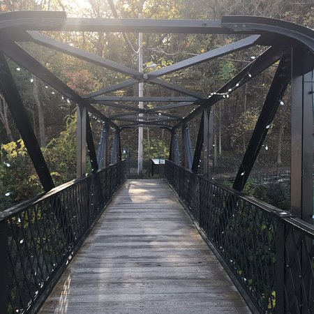 Staunton, VA: The bridge and the park behind