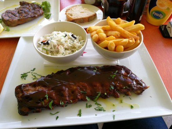 Shows a tasty dish from Cuba restaurant