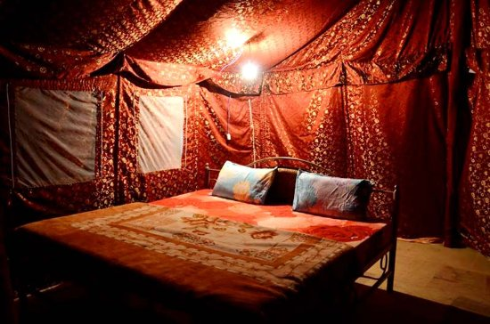 Sam, Indien: Room in Camp