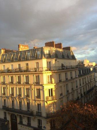 Hotel Claude Bernard Saint-Germain: View from our room, beautiful