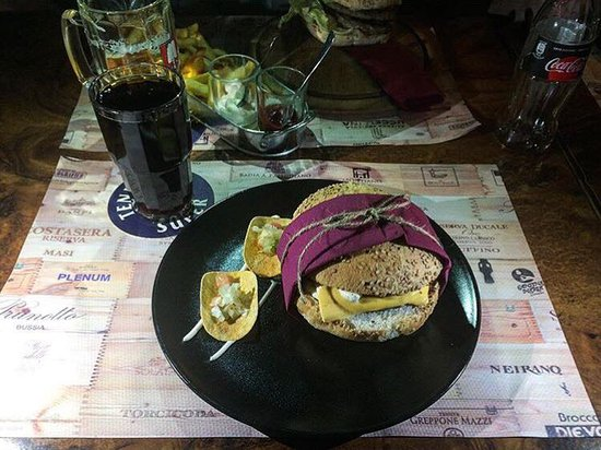 Cosa mangiare foto di birreria capoverde roma tripadvisor for Cosa mangiare a roma