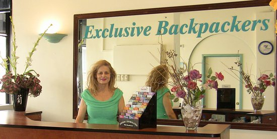 Exclusive Backpackers: RECEPTION DESK