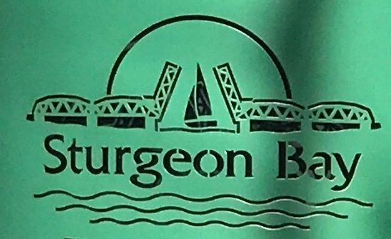 A logo for Sturgeon Bay