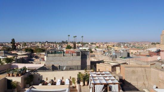 Riad Matham: Vista desde la azotea