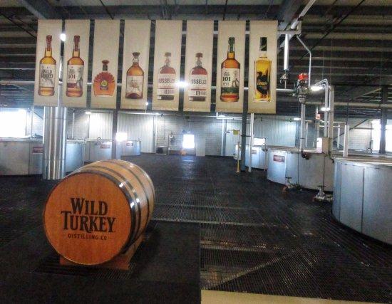 Ohiopyle, PA: Wild Turkey Distillery Tour