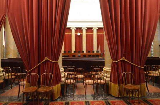 Supreme Court: l'aula delle udienze