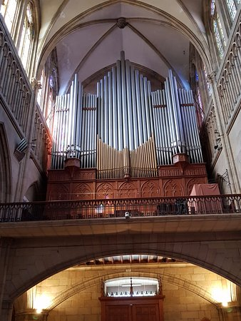 Buen Pastor Cathedral : O órgão da Catedral do Bom Pastor
