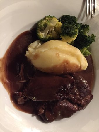 Coningsby, UK: The Lincolnshire beef was excellent, tender, and tasty