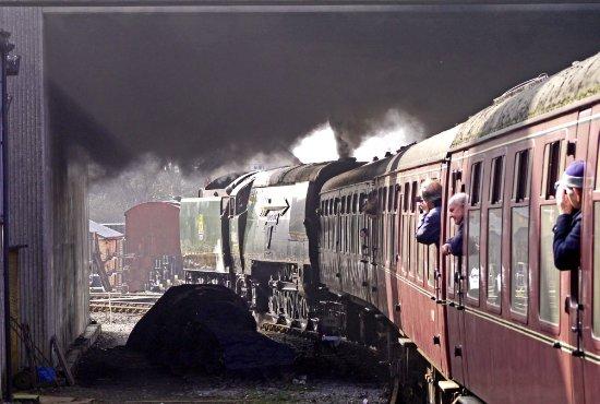 The East Lancashire Railway: City of Wells makes smoke_large.jpg
