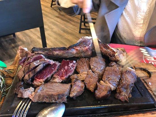 El Tarter, Andorra: 价格和份量都很好!肉质非常好!值得推荐!