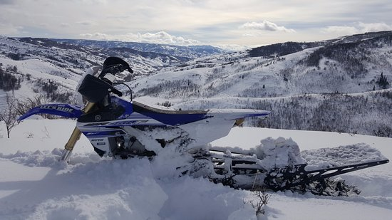 Eden, UT: Snow bike Rental