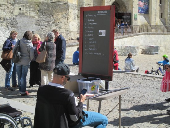 Petit Train Avignon : Biljettförsäljare