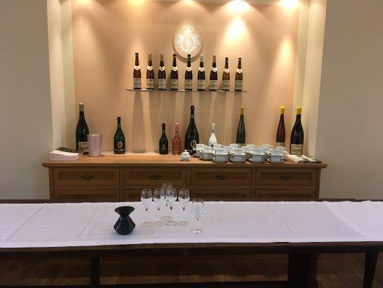 Geisenheim, ألمانيا: Die Weinprobe