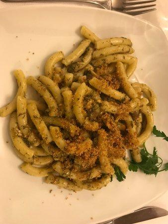 La Piazzetta : pasta con le sarde