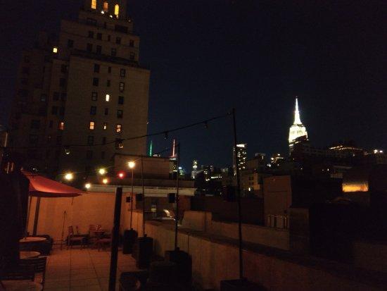 The GEM Hotel Chelsea: Vista desde la terraza
