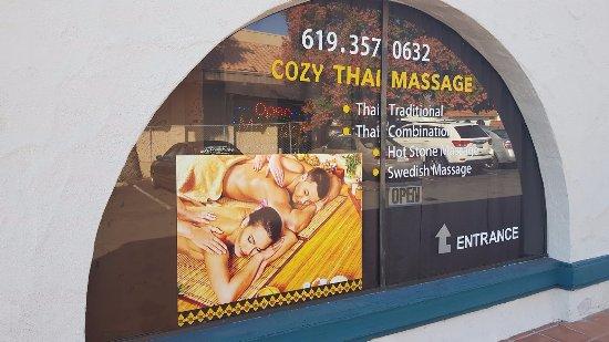 Spring Valley, Kalifornien: Cozy Massage Windows