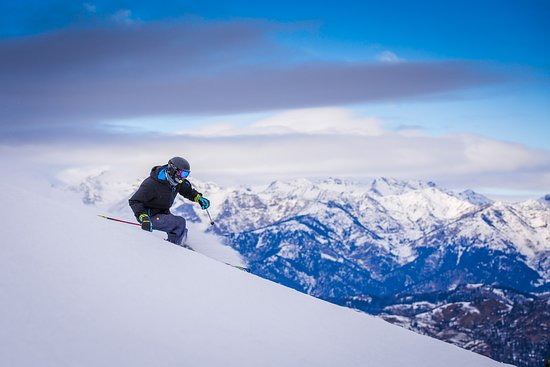 Sun Valley-Ketchum, ID: Skiing on Bald Mountain